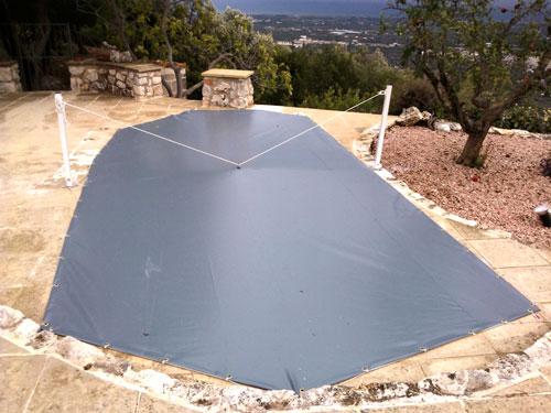 Linea ombra tende e coperture telo per copertura piscina for Teli per piscine interrate